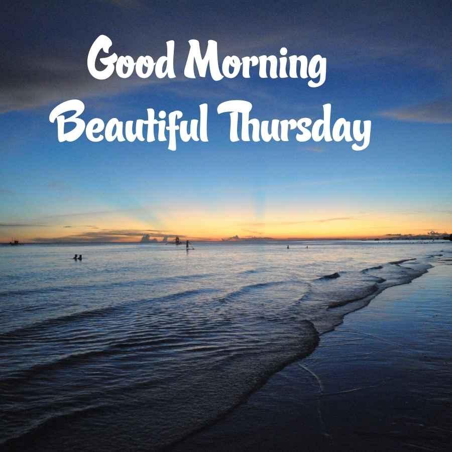 happy good morning thursday