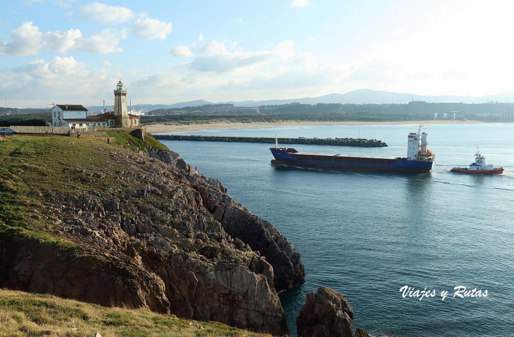 Senda Costera- Faro de San Juan o Faro de Avilés