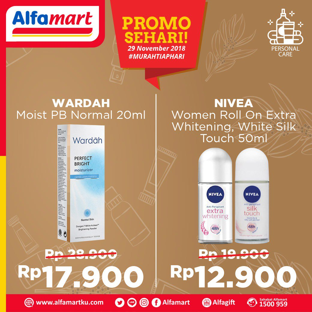 Alfamart - Promo Diskon Sehari 29 November 2018