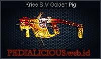Kriss S.V Golden Pig
