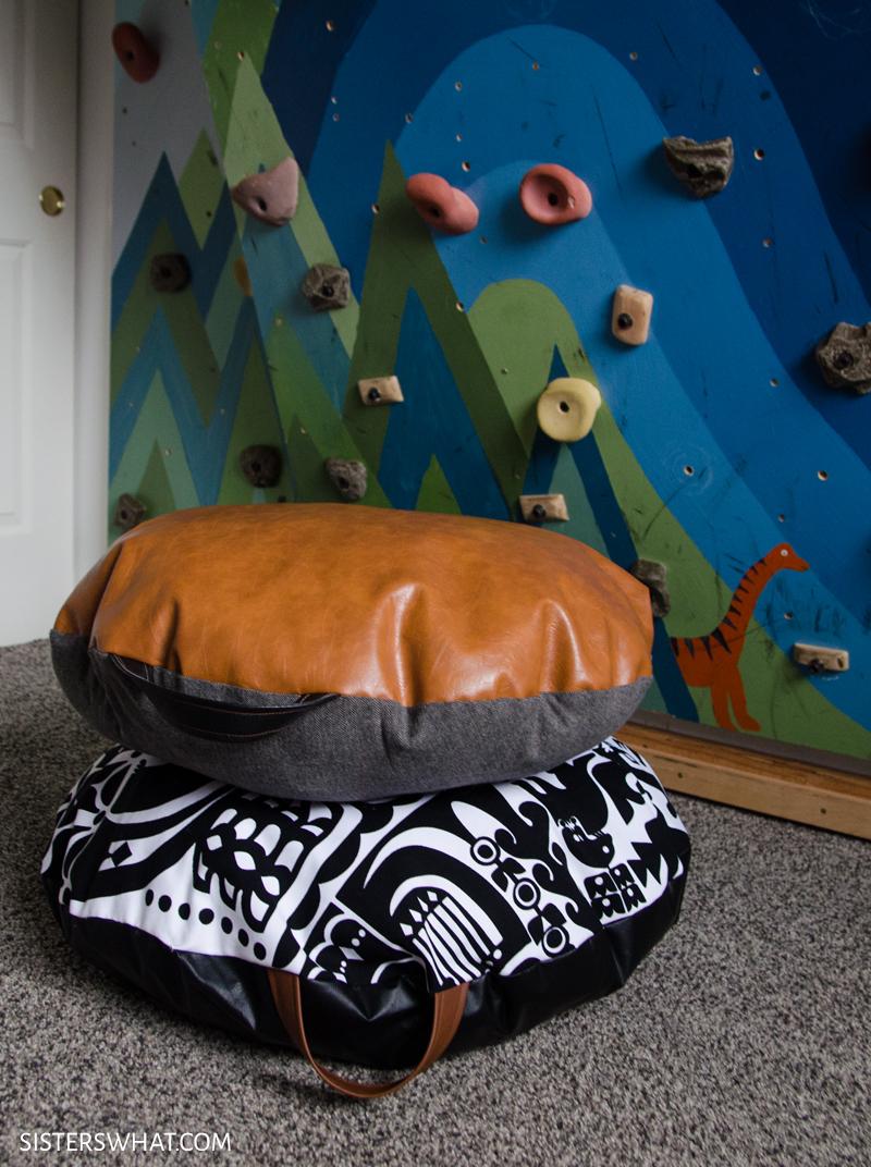 diy floor pillows cushions poufs