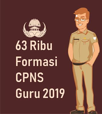 Formasi CPNS Guru 2019