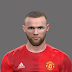 PES 2017 Wayne Rooney Face ( Man UTD ) By Emret