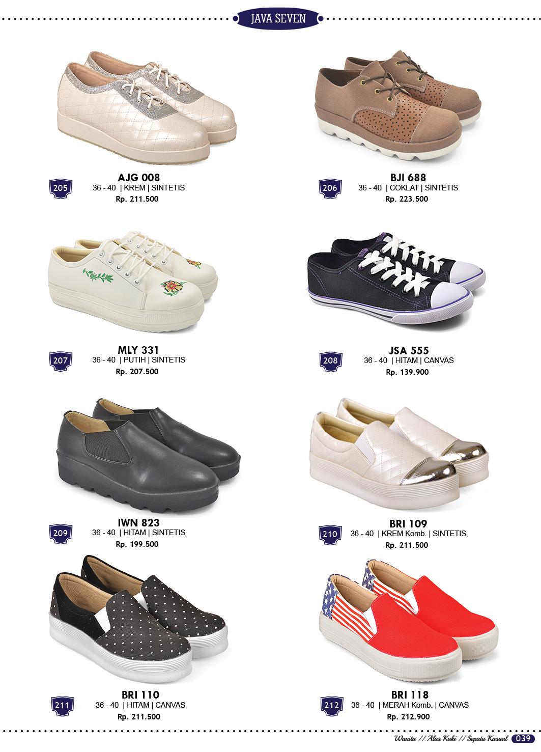 Sepatu Sandal dan Tas Terbaru Katalog Java Seven 2018 ...