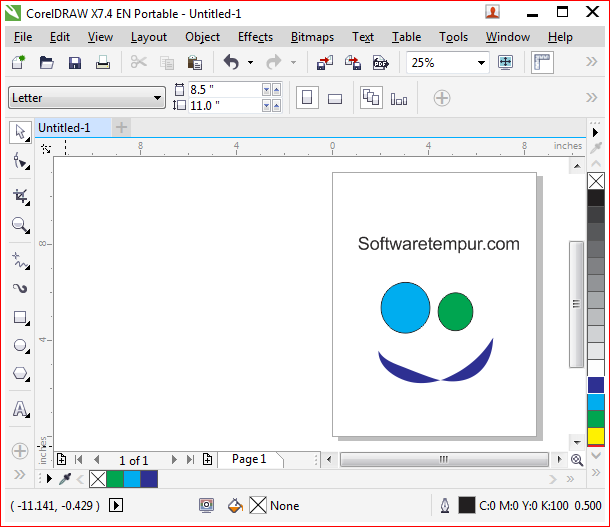 Corel Draw Portable x7