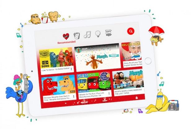 ειδική εφαρμογή YouTube για παιδιά με φίλτρα