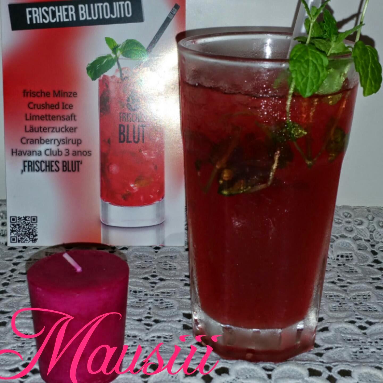 Frisches Blut Cocktail