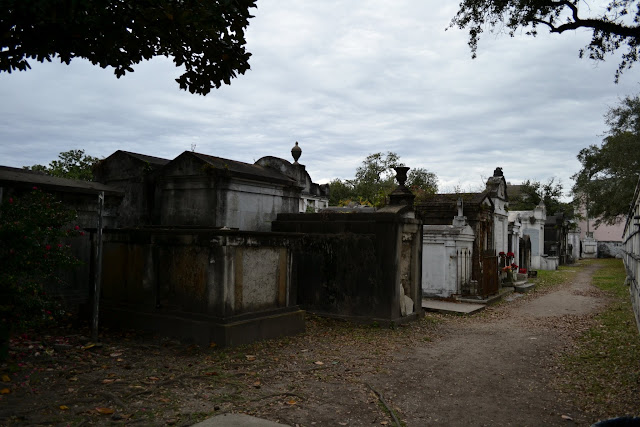 Кладбище Лафайетт. Район Садов. Новый Орлеан (Lafayette Cemetery No. 1. Garden District, New Orleans)