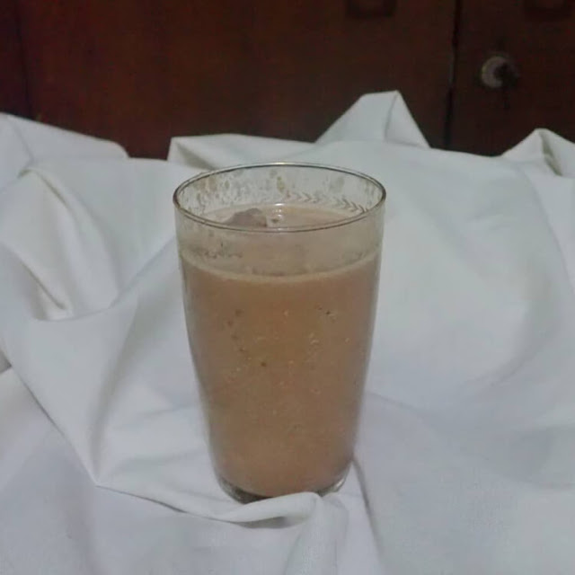 resep banana oatmeal smoothie
