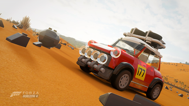 Forza Horizon 4   LEGO MINI Cooper S   For Gamers Like Me