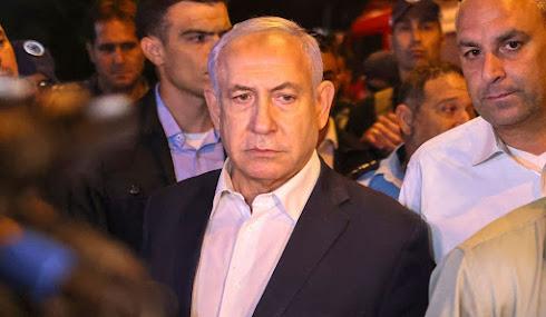Bibi in Lod on Wednesday