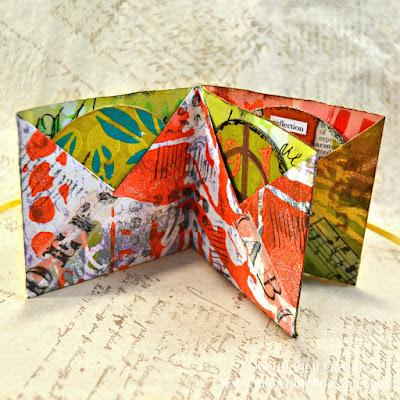 ATCoin Origami Fold Book Inside