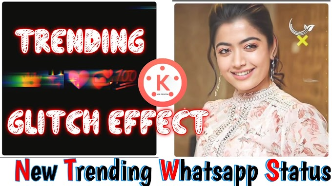 New Glitch Effect Trending Whatsapp Status, Trending Temple Download Link