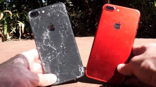 iPhone 8 plus sau khi thay vỏ mới tại MaxMobile