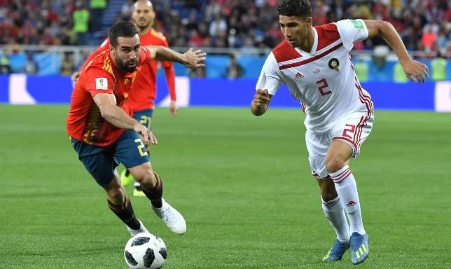 Ashraf Hakimi expels Carvajal to conquer the hearts of Real Madrid fans