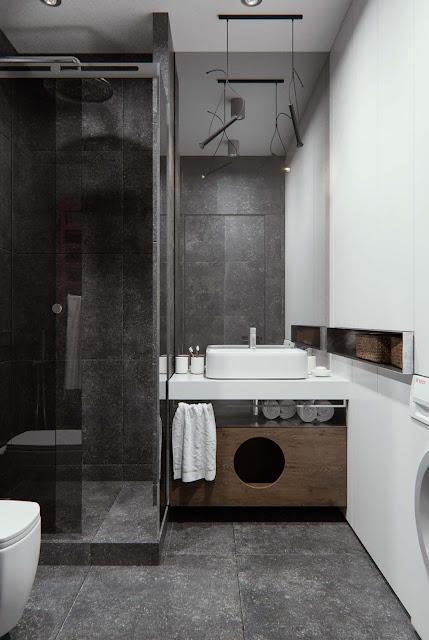 Bathroom Digital Tiles Design