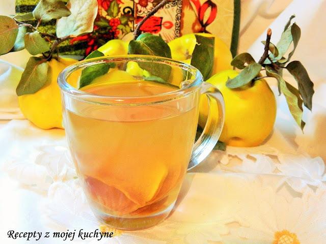 Dulový čaj zo sušených dulí