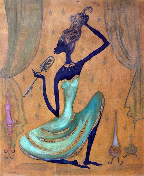 Negrita en el tocador, 1959