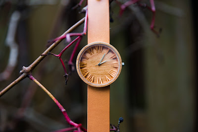 Unisex Maple Wood Watch