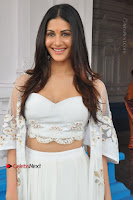 Telugu Actress Amyra Dastur Stills in White Skirt and Blouse at Anandi Indira Production LLP Production no 1 Opening  0040.JPG