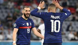 موعد مباراة فرنسا والمجر في يورو 2020.