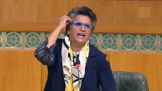 من هي المرأة الوحيدة في مجلس برلمان ذكوري