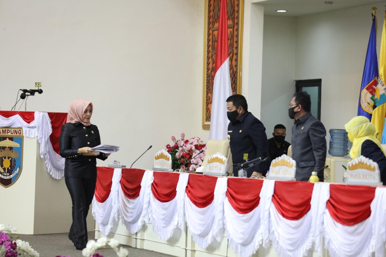 Gubernur Arinal Apresiasi Rekomendasi DPRD Lampung atas LKPJ Kepala Daerah Akhir TA 2019, Jadi Bahan Pertimbangan Penyusunan Program Eksekutif - Legislatif