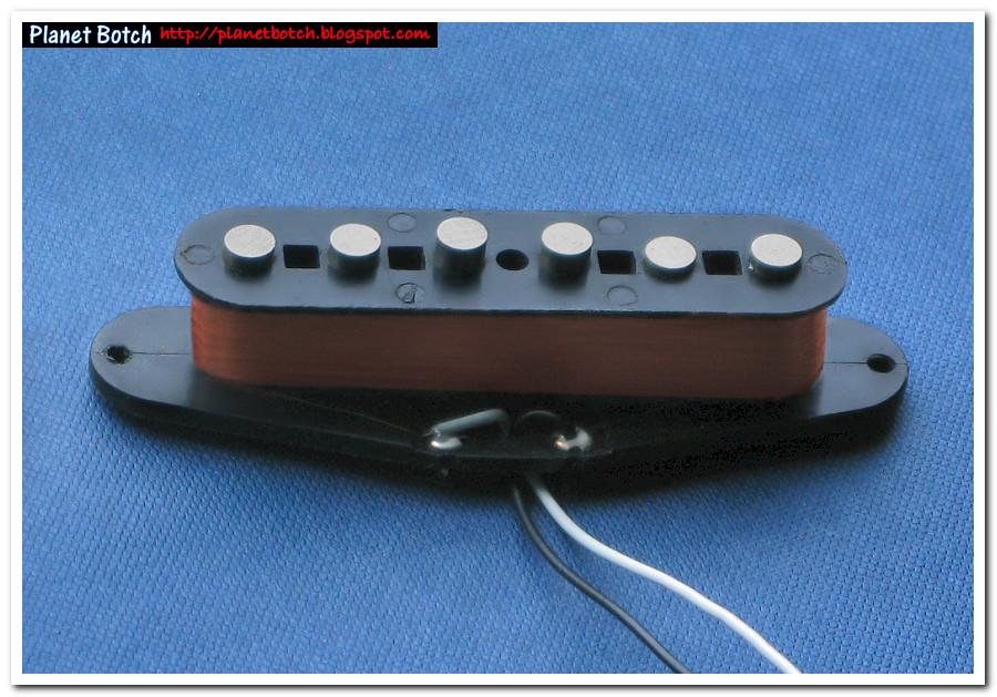 1980s Fender Japan Vintage Strat Pickup Planet Botch