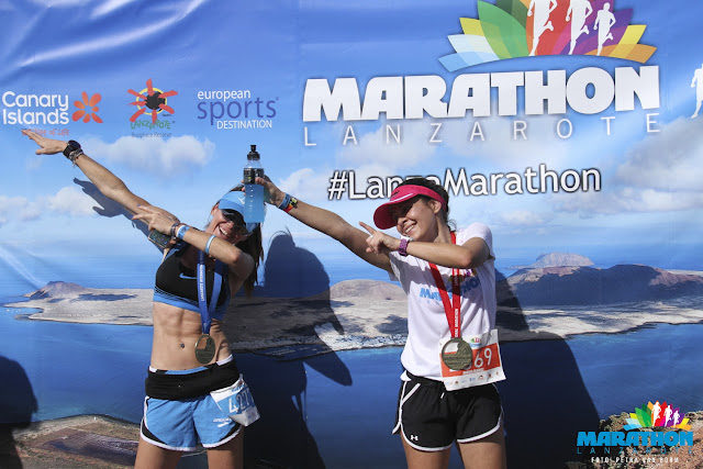 Maraton Lanzarote - Lanzarote - Runners - María Mainez - Finisher Maraton Lanzarote