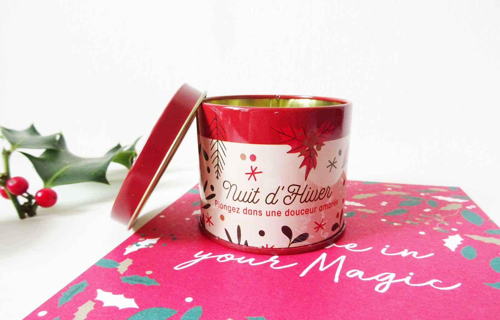 "beautiful box fairy christmas Bougie parfumée ""nuit d'hiver"""