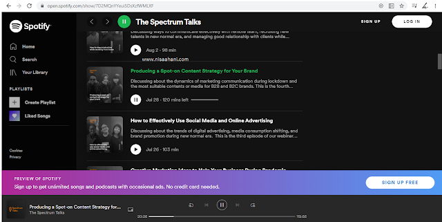 Podcast The Spectrum Talks by Suitmedia