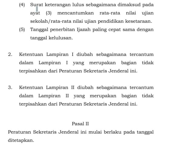 Jadwal Tanggal Penentuan Kelulusan Siswa Tahun 2020 SD MI SDLB SMP MTs SMPLB SMA MA SMALB SMK PAKET A PAKET B Dan PAKET C TAHUN AJARAN 2019-2020.