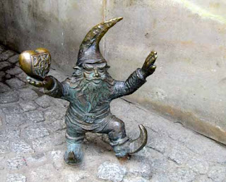 Gnome Hunting Most Popular One in Wroclaw Poland