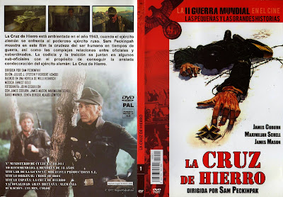 Carátula dvd: La cruz de hierro (1977) (Cross of Iron)