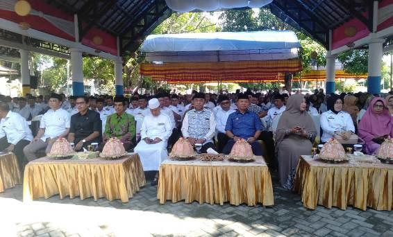 Ustadz H. Das'ad Latif, Ceramah di Halal Bi Halal Pemkab Selayar