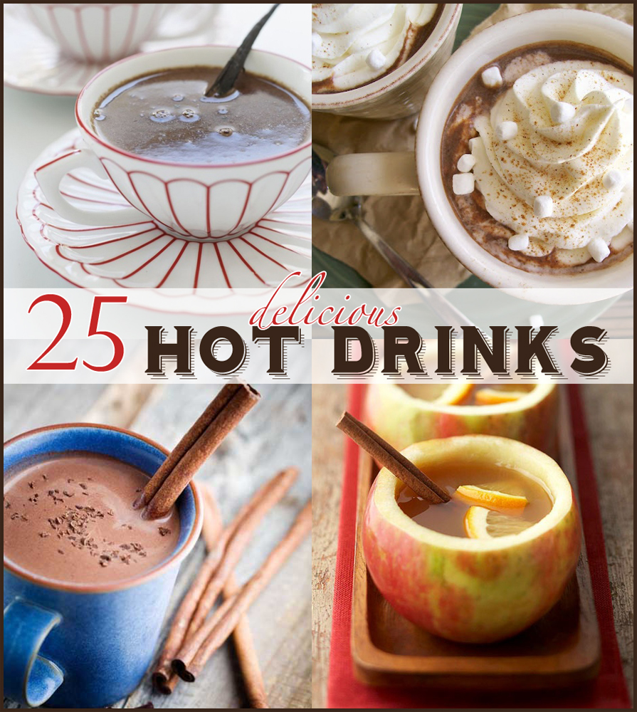 25 Delicious Hot Drinks