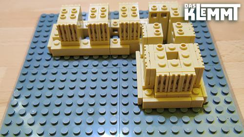 Klemmbausteine Architektur
