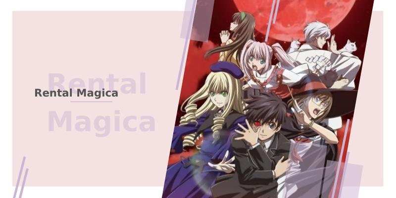 8 animes com bruxas - rental magica