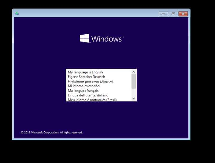Windows 10 Pro 19H2 1909.10.0.18363.719 Con Office 2019 poster box cover