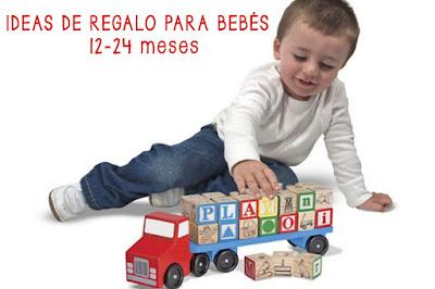ideas regalo bebés 12-24 meses, blog mimuselina, qué regalar a un bebé de más de un año