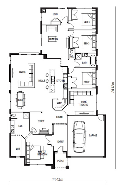 Peter & Catherine's New Home: The house...