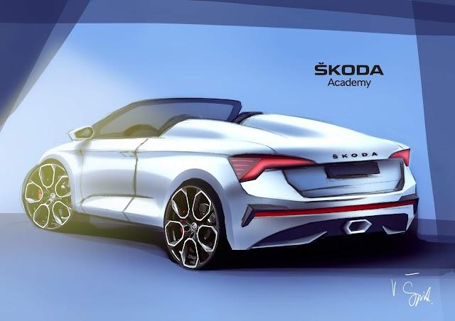 Škoda Scala Tasarlanıyor