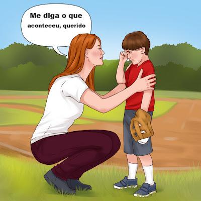 Como ajudar seu filho a lidar com rejeições e o que você pode dizer para apoiá-los