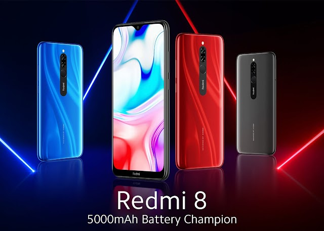 Xiaomi Redmi 8, Specification, Uncboxing Video, Price and Launch Date