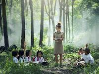 Belajar Bisa Di Mana Saja Termasuk Langsung Terjun Ke Alam Memberi Manfaat Pengetahuan Yang Nyata