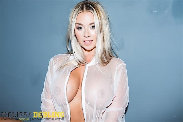Melissa Debling big boobs skater girl gorgeous beauty closeup