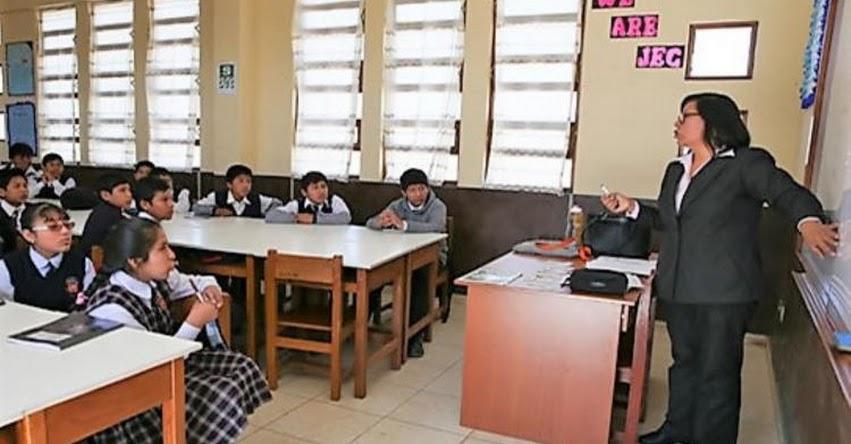 MINEDU: Colegios privados tendrán hasta 5 años para adecuarse a condiciones del nuevo reglamento