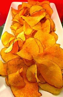 Homemade potato chips, So Crunchy