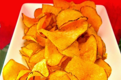 Homemade potato chips, So Crunchy