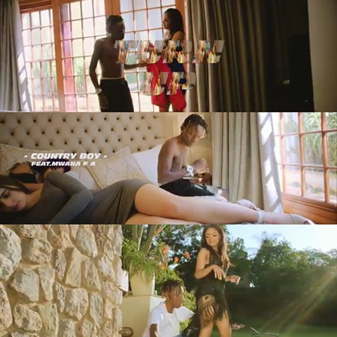 Video - Country Boy Ft Mwana Fa - Turn Up